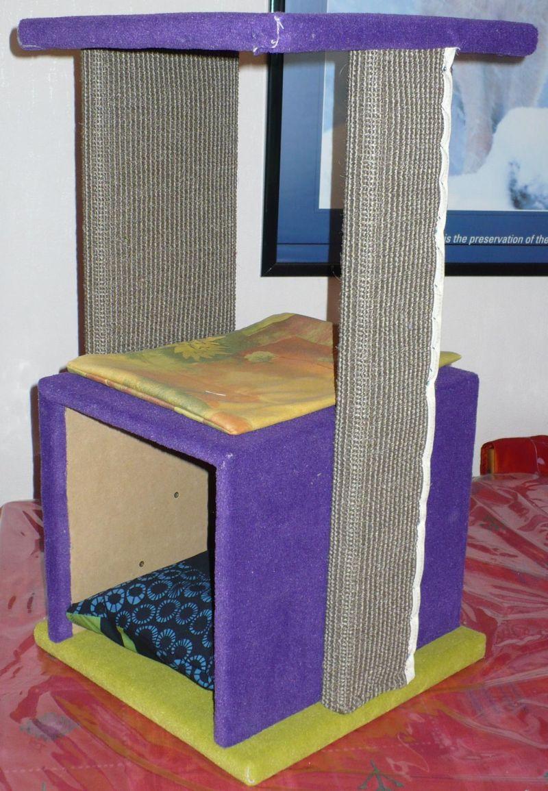 arbre chat compact. Black Bedroom Furniture Sets. Home Design Ideas