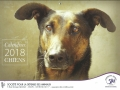 calendrier chiens 2018