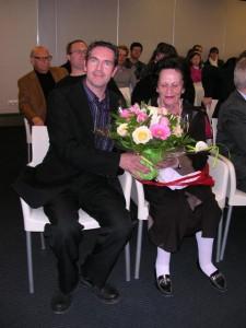 Frédéric Freund et Michèle Pennequin.