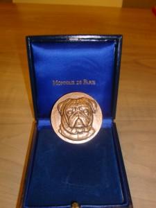 La médaille de la SPA Dijon.