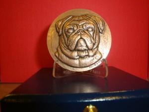 La médaille de la S.P.A. de Dijon.
