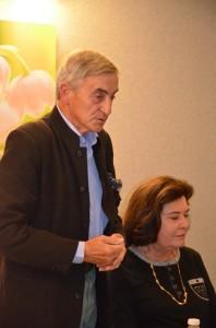 Louis de Broissia parlementaire honoraire, Président d'honneur de l'association
