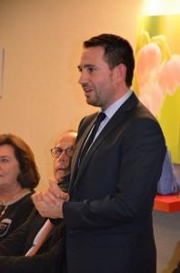 Jehan-Philippe Contesse, Conseiller municipal représentant Francois Rebsamen
