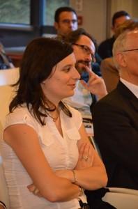 Aline Ferrière conseillère municipale et assistante de Laurent Grandguillaume