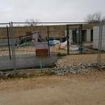 nettoyage des terrains après enlèvement des préfabriqués